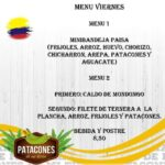 """ Patacones de mi Tierra """