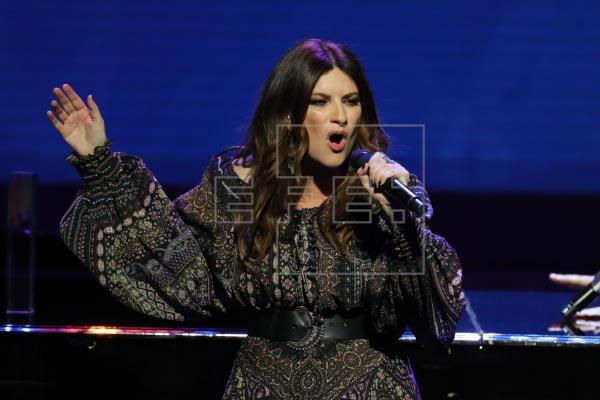 En la imagen, la cantante italiana Laura Pausini.