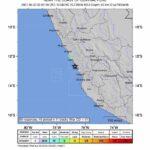 Perú no reporta muertes por sismo de magnitud 6 en la costa central del país